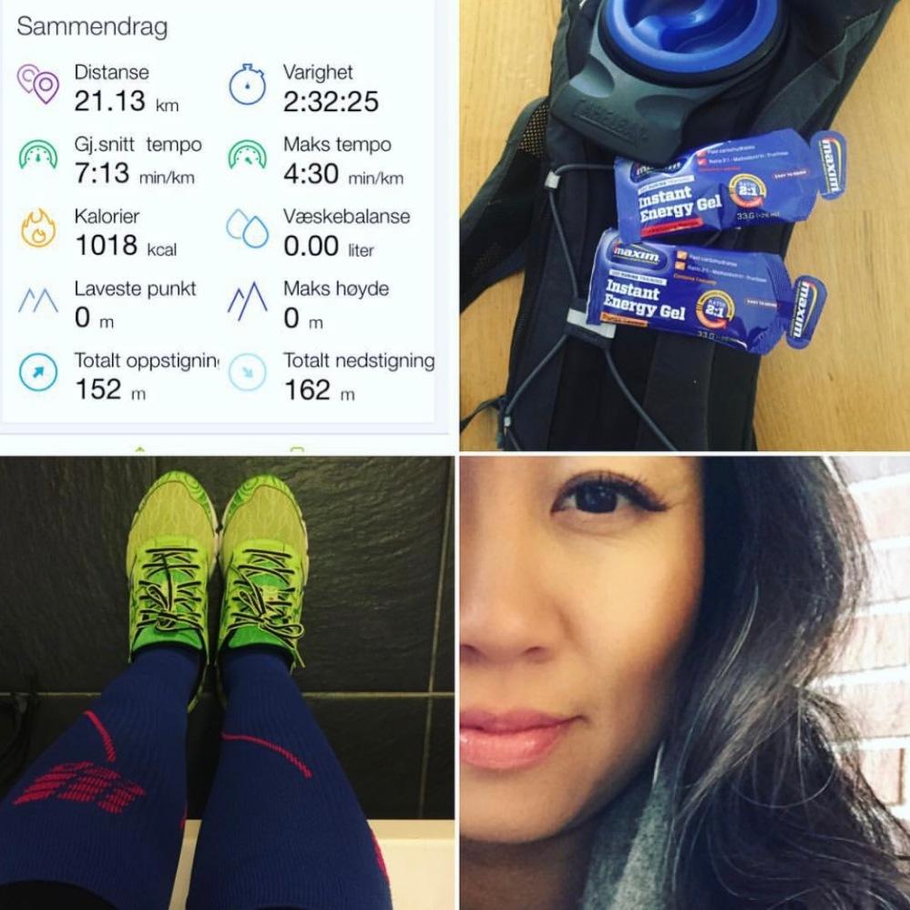 Første halvmaraton